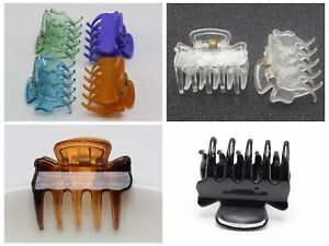 12 Coffee Plastic Hair Jaw Claw Clip Clamp Bangs Clips 29mm Hair Accessories