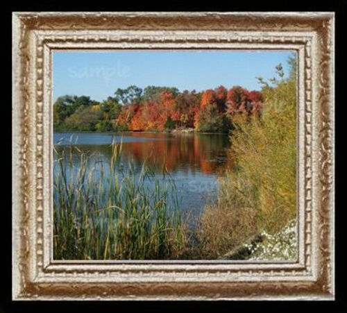 Autumn at The Lake  Miniature Dollhouse Picture