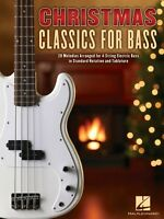 Christmas Classics For Bass Sheet Music 20 Melodies Arranged For 4-str 000700183