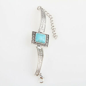les-nouvelles-femmes-mode-square-bijoux-turquoise-boutons-de-bracelet-PAY