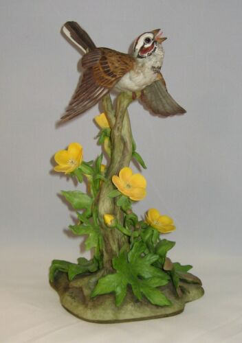 "Boehm Porcelain Sculpture 40035 ""LARK SPARROW"" Direct From Showroom"