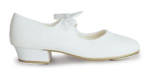 RV Canvas Chorus low heel tap shoes