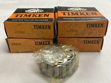 Timken 2580 Roller Bearing Cone Nos Lot Of 4