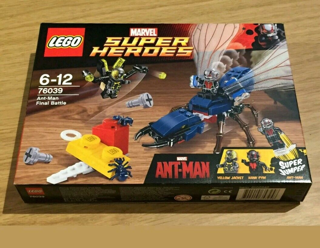 Lego Marvel Super Heroes ANT-MAN bataille finale 76039. Marque Neuf Scellé Set