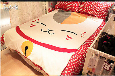 Anime Natsume Yujin Cho Nyanko-sensei Cosplay Thin Cute Soft  Bed Throw Blanket