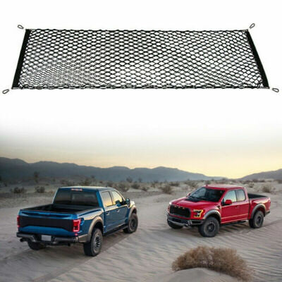 Truck Bed Envelope Style Trunk Mesh Cargo Net for Ford F-150 2015-2019 Brand New