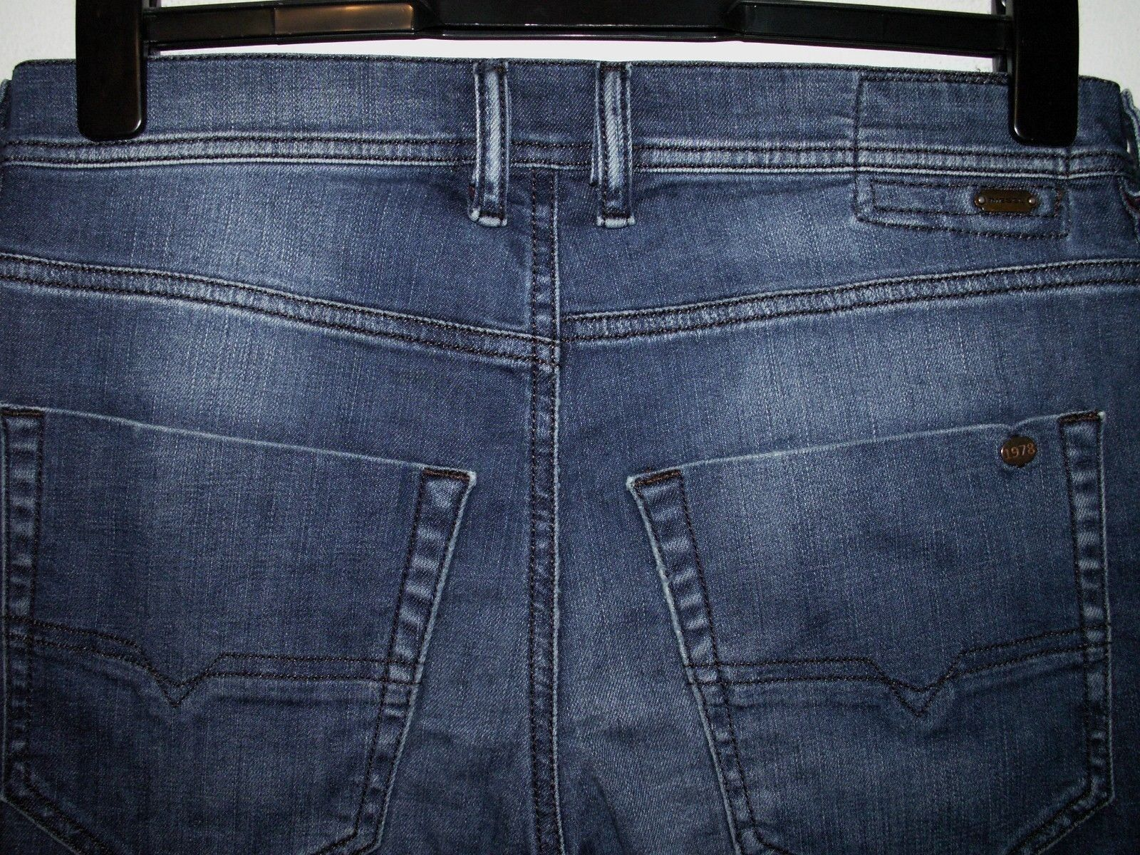 Diesel tepphar slim-carrot slim-carrot slim-carrot fit jeans wash 0818T stretch W31 L32 (a4279) e7dc9c