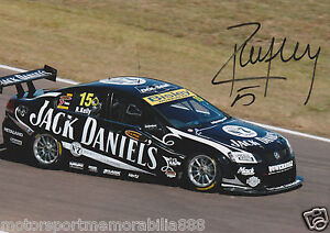 Rick-Kelly-Signed-6x4-or-8x12-Photo-PRINT-V8-Supercars-HOLDEN-JACK-DANIEL-039-S