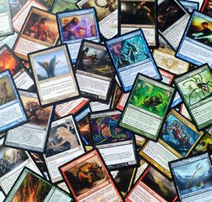 MTG-Magic-the-Gathering-100-BULK-RARE-LOT-x100-card-collection-edh-commander