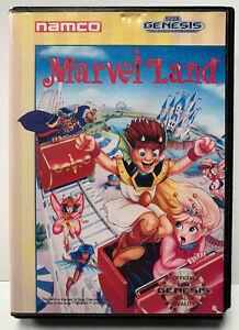 Marvel-Land-for-Sega-Genesis-Authentic-NTSC-Version-No-Manual-By-Namco
