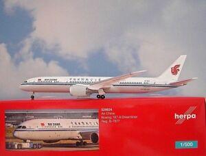 Herpa Wings 1:500 Boeing 787-9 Dreamliner Air China 529624