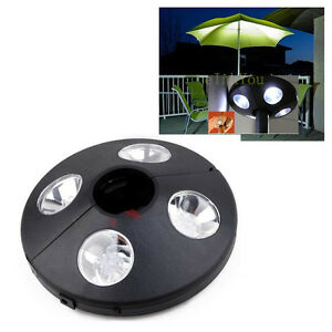 patio umbrella light 24 led lights 3xaaa battery operated pole lamp. Black Bedroom Furniture Sets. Home Design Ideas