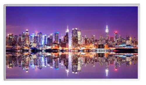 300W Fern Infrarotheizung NY Skyline Bild Elektroheizung Überhitzungsschutz TÜV