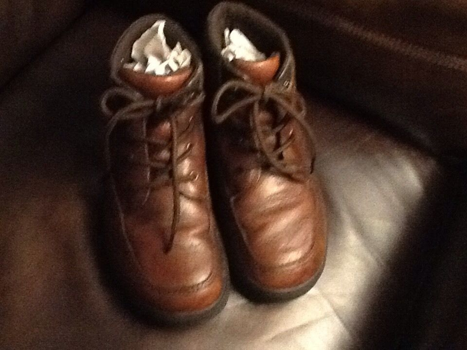 Nice Nunn-Bush Brown Shoes,size Leather Walking/hike Shoes,size Brown 9 Men,LOOK! caf472