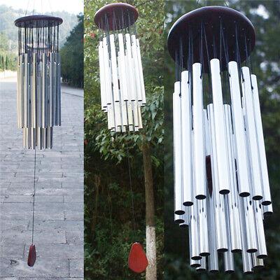 Large Deep Tone Wind Chimes MetalWindchime Chapel Bell Outdoor Garden Home Decor