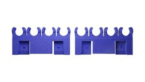 Ford Valve Cover Mounted 8.5mm Blue Spark Plug Wire Separators 1965-1977 Ford