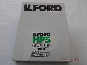 Ilford FP4 PLUS 4x5 Large Format Sheet Film 25 Sheet Pack