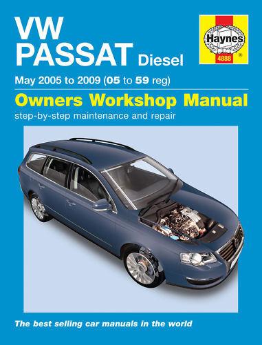 Volkswagen VW Passat Diesel 2005-2010 Haynes Manual NEW