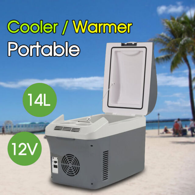 AU Stock 14L Car Fridge 12VDC Portable Cooler & Warmer Thermoelectric Outdoor