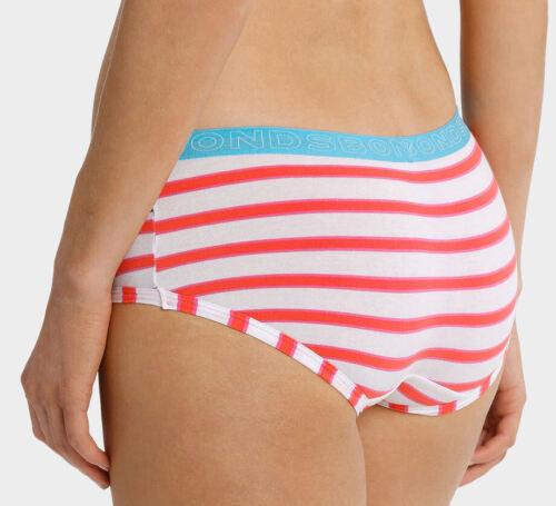 Bonds Ladies 9BB Bloomin Stripe Printed Hipster Boyleg Brief Size 10 New