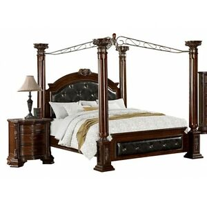 Lara Brown Cherry Canopy King Bed