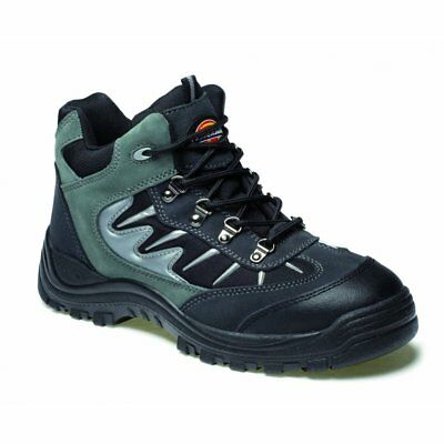 Dickies FA23385A Grey Storm Work Boot Safety Hiker Work Boot Size 6-12 UK