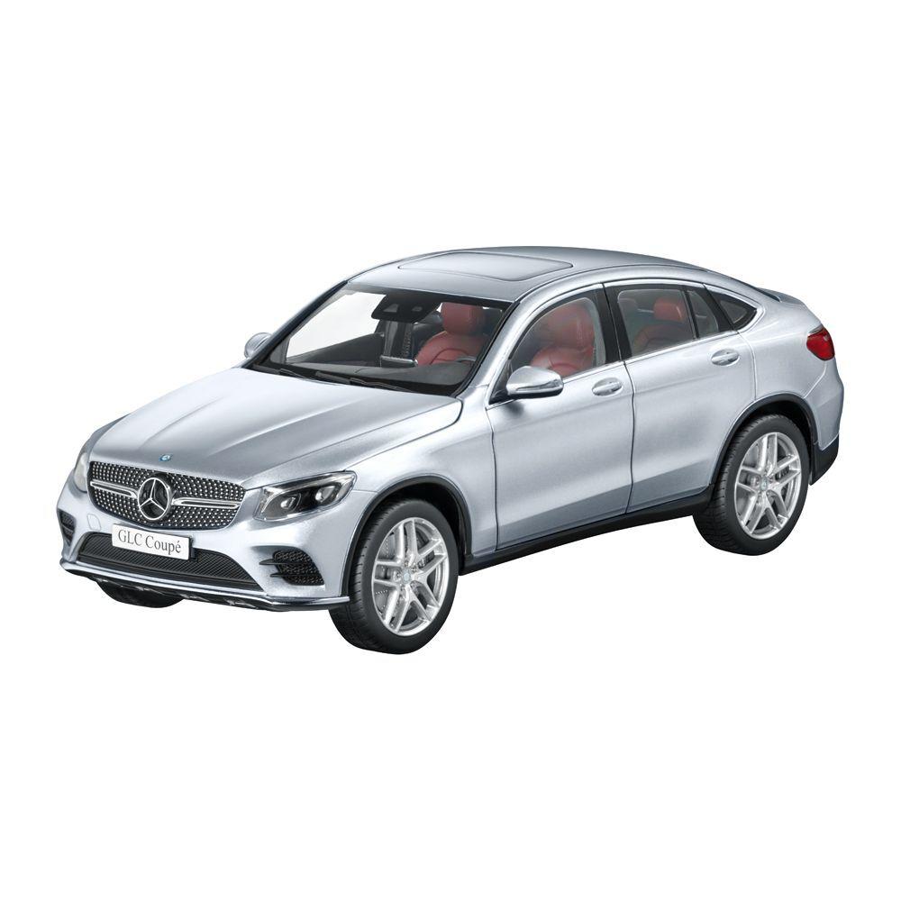 Mercedes Benz C 253 Glc Coupé AMG Linea argento 1 18 Nuevo Emb.orig