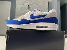 newest 3343c 0c9b3 item 2 NIKE AIR MAX 1 ID WHITE SPORT Blue GREY BLACK Size 11 Nike ID -NIKE  AIR MAX 1 ID WHITE SPORT Blue GREY BLACK Size 11 Nike ID