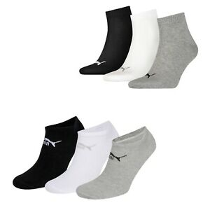 Puma-Socks-3-Pairs-Mens-Womens-Ankle-Liner-Sneaker-Sports-Invisible-UK-5-8-11