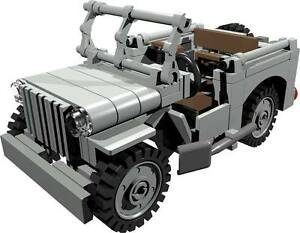 CUSTOM building INSTRUCTION  WILLYS JEEP passenger to build out of LEGO parts - Exmouth, Devon, United Kingdom - CUSTOM building INSTRUCTION  WILLYS JEEP passenger to build out of LEGO parts - Exmouth, Devon, United Kingdom