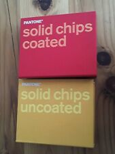 New Listingpantone Pms Solid Chips Coated Amp Uncoated Two Binders