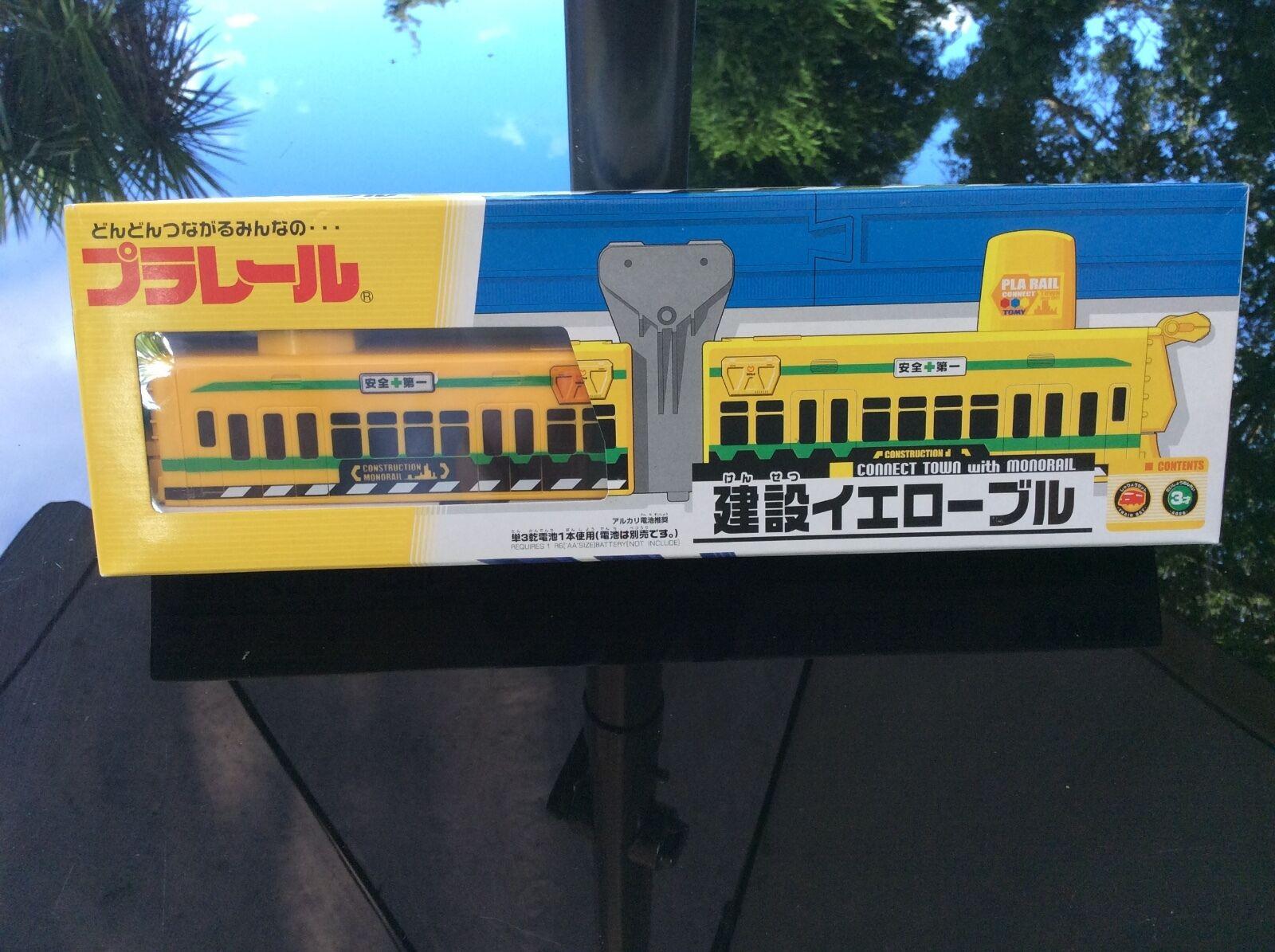 Noël est plein de de de joie Tomy, pendaison monorail, jaune entretien Train (neuf) 69e9b3