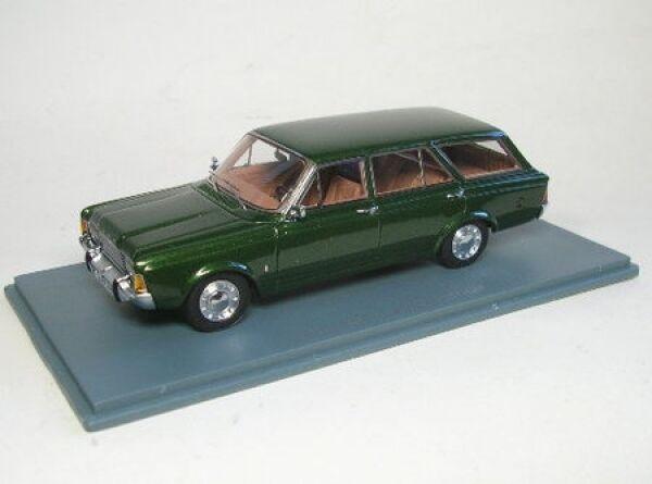 Ford P7 Turnier (Grün metallic) 1968  | Vielfältiges neues Design