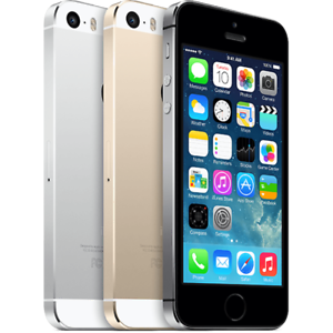 Apple-iPhone-5S-16GB-Unlocked-Smartphone-Silver-Gray-Gold-Grade-C