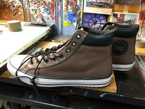 Converse CTAS PC Boot HI Chocolate Leather Size US 11.5 Men 162413C ... 59d9dffe5