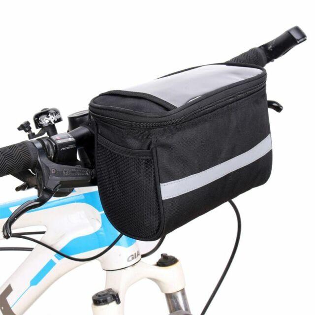 Avenir Softside Quick Basket Bike Bicycle Front Handlebar Bag Floral Blue For Sale Online Ebay