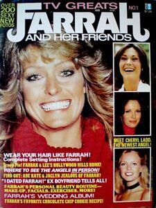 Farrah-Fawcett-Magazine-1977-TV-Greats-Premiere-V1N1-Majors-Charlie-039-s-Angels-COA