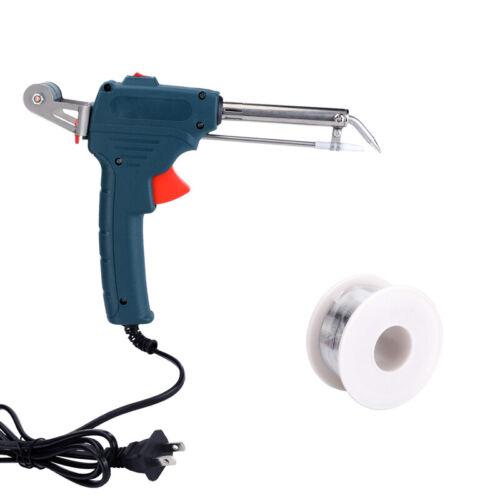 110V 60W Auto Welding Electric Soldering Iron Temperature Gun Solder Tool Kit