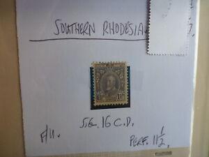 SOUTHERN-RHODESIA-STAMP-S-G-16-C-D-1-d-F-U