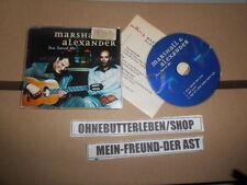CD Pop Marshall & Alexander - You Saved Me (3 Song) MCD ARIOLA + presskit