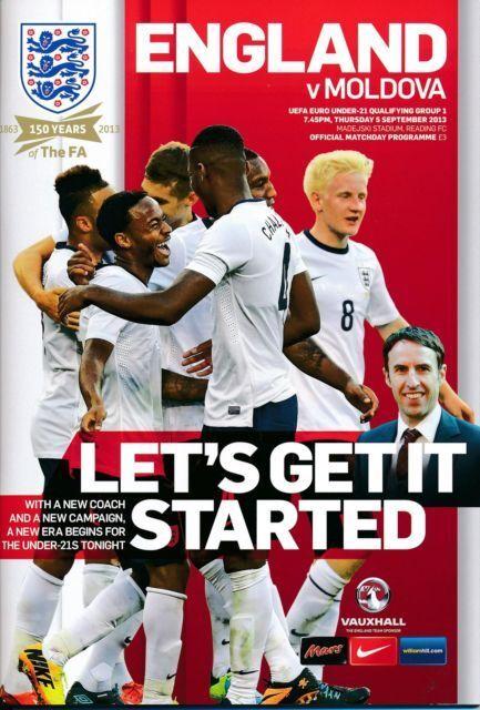 2013 - ENGLAND v MOLDOVA (UNDER 21 EURO 2015 Qualifier) @ Madejski Stadium