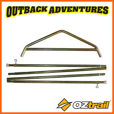 item 3 OZTRAIL TOURER 9 CANVAS TENT SIDE POLE KIT CTTA-SPK09-B -OZTRAIL TOURER 9 CANVAS TENT SIDE POLE KIT CTTA-SPK09-B  sc 1 st  eBay & Coleman Replacement Tent Pole Kit | eBay