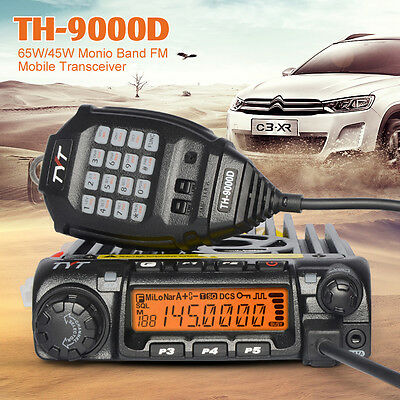 TYT TH-9000D VHF 136-174MHz MINI Car Mobil Radio Transceivers 65W Two Way Radio