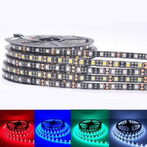LED-Strip-5050-Black-PCB-DC12V-Flexible-LED-Light-for-Car-Boat-home-decoration
