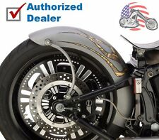 "Lucky Sucker Harley Softail 150mm Tire 7.25"" Wide Rigid Style Bobber Rear Fender"