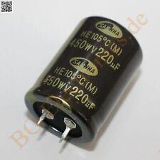 1 pc Nichicon Elko  UCS2D330MPD  33uF  200V  10x20mm  RM5  105°  NEW