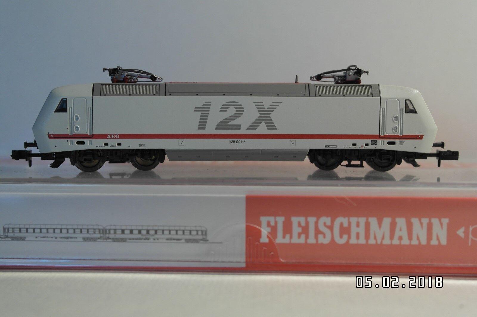 Fleischmann 7312, E-Lok BR 128  12X  der AEG, NEU   OVP  | Rabatt