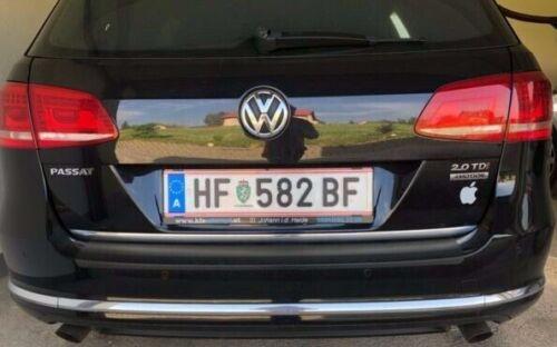 VW Passat B7 Variant Kombi Chrom-Zierleiste Heckleiste Chromleiste Heckklappe