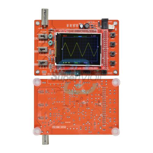 "Assembled DSO138 2.4/"" TFT Digital Oscilloscope 1Mbps w// Probe Acrylic Case Kit"