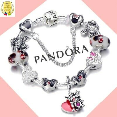 bracelet pandora mickey minnie